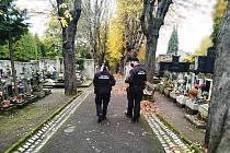 Strážníci, hřbitov, ilustrační foto.