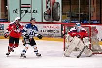 Hokejové utkání Havířov - Třebíč.