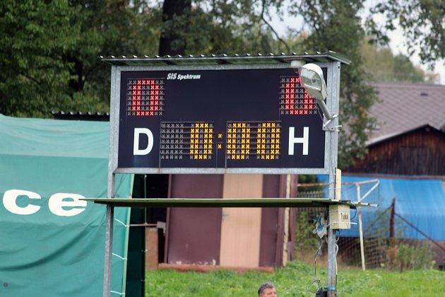 Znávštěvy fotbalu vHorních Bludovicích.