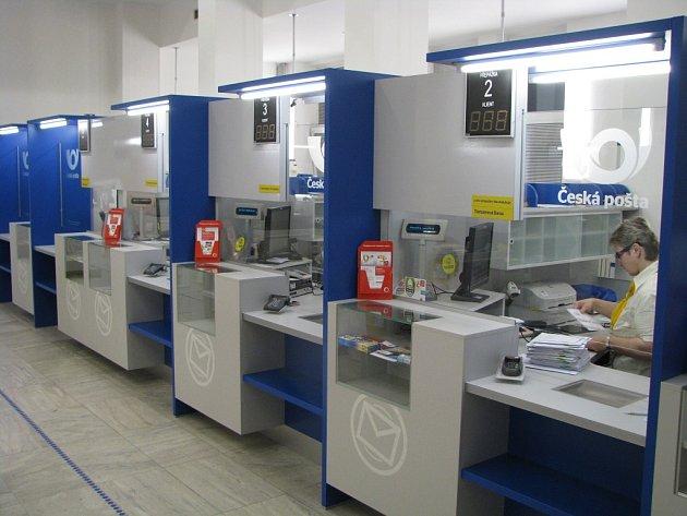 Hlavní pošta v Havířově.