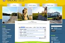 Titulní stránka webu obce Těrlicko.