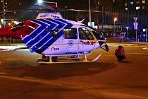 Zásah u muže v Havířově-Podlesí, který se zranil po pádu z okna.
