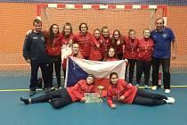 Halový turnaj fotbalistek v Havířově.