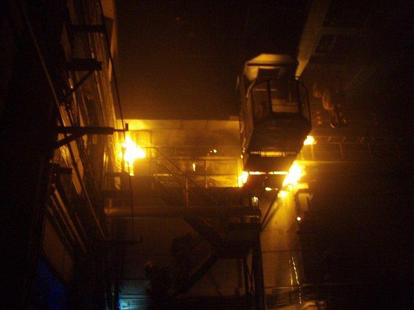 Zásah hasičů upožáru vbohumínské železniční stanici.