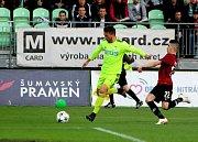 Z utkání Karviné se Spartou (1:3).