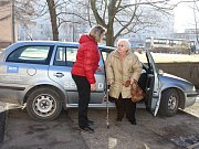 Doprava seniorů.