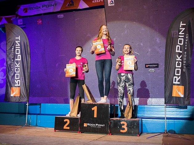 Markéta Janošová (vlevo) brala druhé místo.