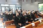 V den 60. výročí požáru a smrti 108 horníků na Dole Dukla v Dolní Suché, se na šumbarském hřbitově konal vzpomínkový akt. Havířov, 7. července 2021.