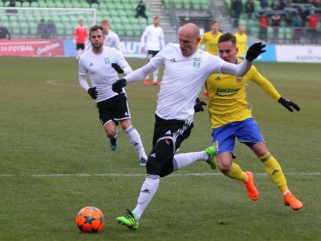 Marek Janečka proti Zlínu příkladně bojoval. Na výsledku to bylo poznat.