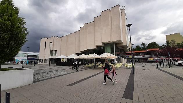 Karviná-Mizerov, kino Centrum.