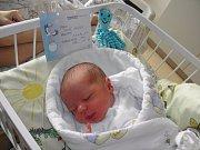 Tadeášek se narodil 17. října mamince Veronice Kolínkové z Rychvaldu. Po porodu dítě vážilo 3480 g a měřilo 49 cm.