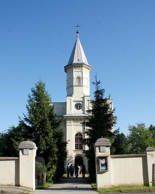 Evangelický kostel v Orlové-Městě.