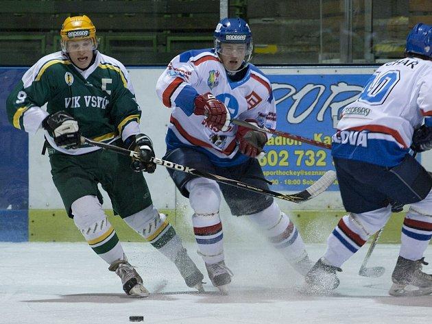 Orlovští hokejisté neodehráli ve Vsetíně špatné utkání, odešli však poraženi.