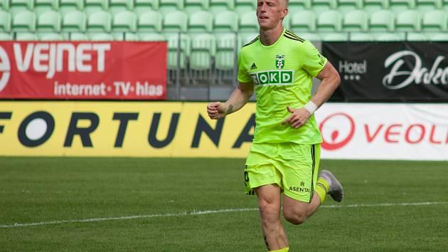 Michal Petráň na tréninku.