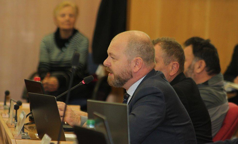 Proti změnám v orlovské nemocnici vystoupil i krajský zastupitel a bývalý starosta Orlové Tomáš Kuča.