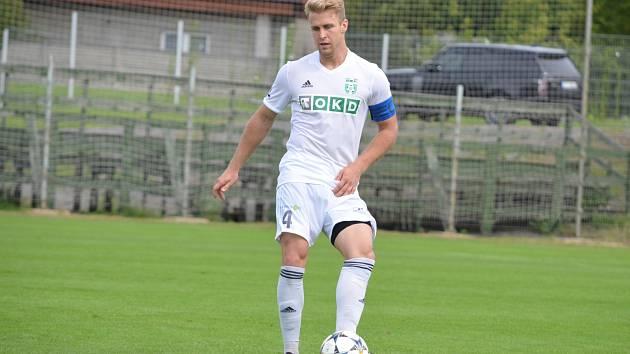 Kapitán Karviné B Tomáš Hujo a jeho spoluhráči doma jen remizovali.