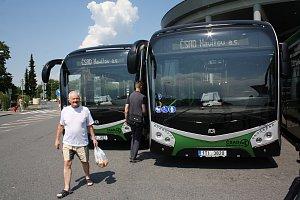 Elektrobusy v Havířově