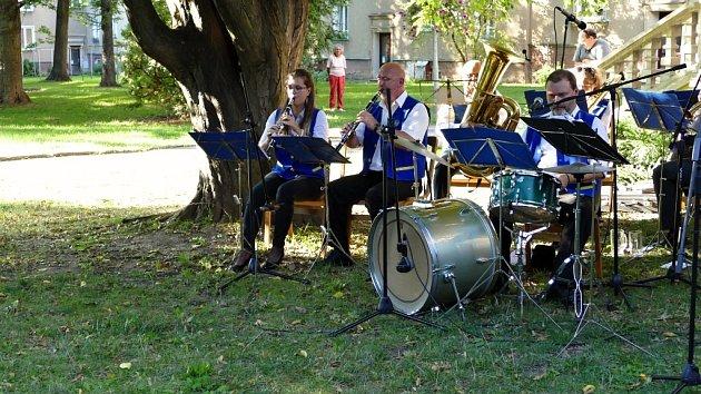 Vystoupení Dechového orchestru Krnovanka v Havířově