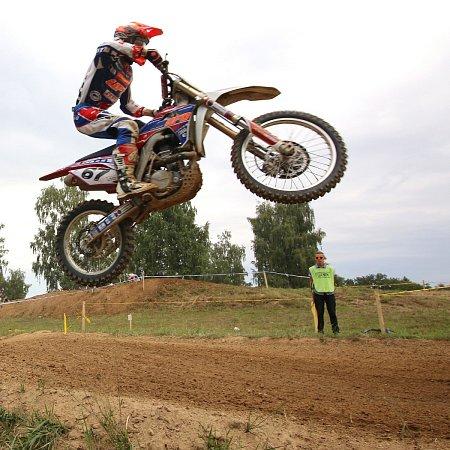 Vítěz kategorie MX1 Petr Michalec.
