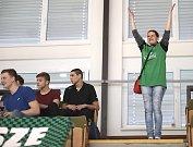 Házenkáři Karviné (v zeleném) si poradili s Jičínem i napodruhé.
