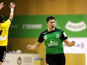 Miroslav Nedoma, nejlepší střelec utkání s osmi góly.