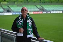 Nový trenér fotbalistů MFK Karviná Bohumil Páník (8. 10. 2021)