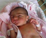 Adélka se narodila 8. července paní Marcele Pechové z Bohumína. Po porodu miminko vážilo 3000 g a měřilo 47 cm.