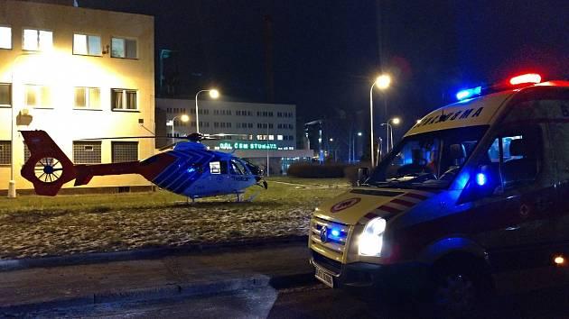 Zásah záchranářů při neštěstí v Dole ČSM ve Stonavě 20. 12. 2018.