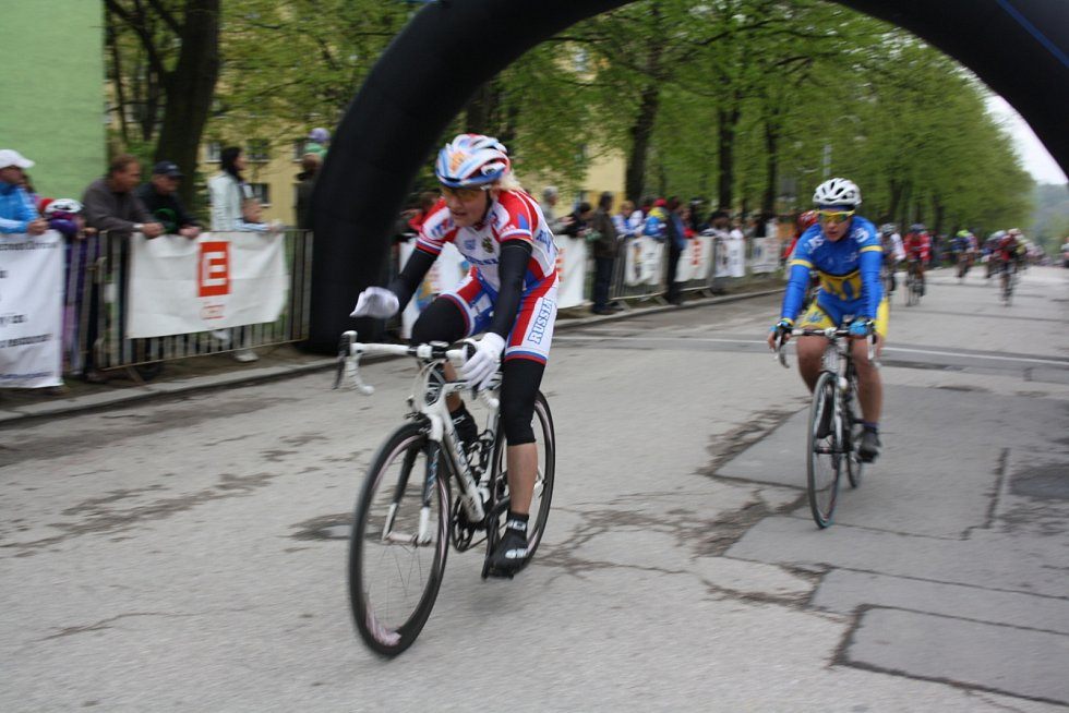 Cyklistická Gracia Orlová 2013.
