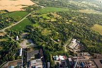 Současná podoba území PZ Barbora, kde má vzniknout Smart Park Karviná. Momentálně chce město společně s MSK připravit lokalitu vpravo u silnice I/59.
