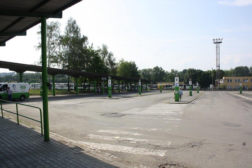 Rekonstrukce autobusového nádraží.