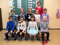 1. třída ZŠ a MŠ s polským jazykem vyučovacím Havířov-Bludovice.