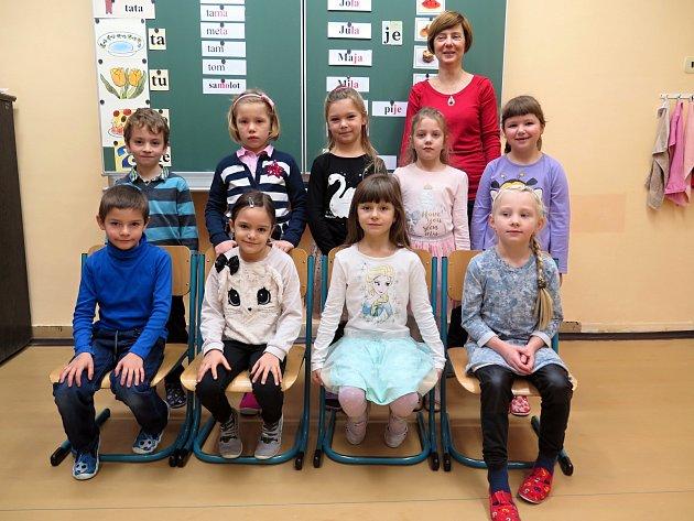 1. třída ZŠ a MŠ spolským jazykem vyučovacím Havířov-Bludovice.