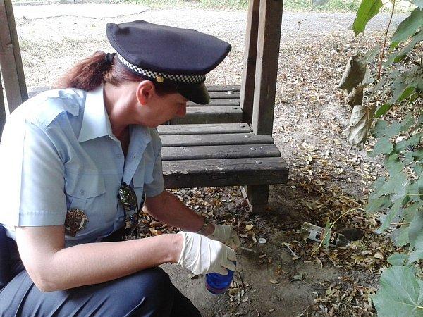 Úklidové akce se účastní pravidelně strážnice a civilní asistentky prevence kriminality.