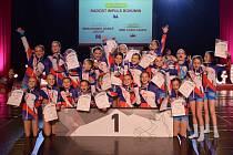 Hned v několika formacích získali tanečníci bohumínského klubu Radost a Impuls tituly na Mistrovství Evropy, které se konalo v Praze.