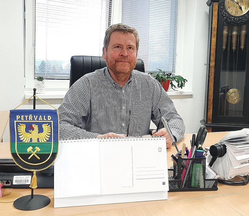 Petřvald. Starosta Jiří Lukša.