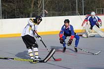 Hokejbalisté mají další body.