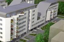 Takto by měl vypadat dům Atrium v Lázeňské ulici.