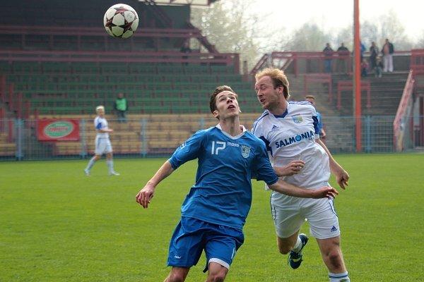 Havířov (modré dresy) si doma poradil sPetrovicemi 2:0.