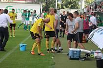 Další průběh ligové sezony si Karvinští zpestří pohárovým zápasem.