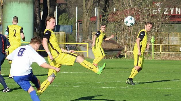 Těšín doma nezvládl utkání s Šenovem.