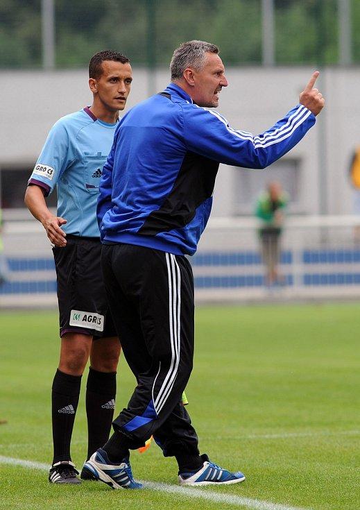 Trenér Frýdku-Místku Milan Duhan.
