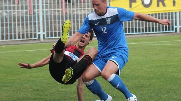 Havířovští fotbalisté porazili doma béčko Opavy.