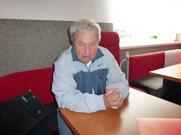 Lumír Twardzik, předseda fotbalových Věřňovic.