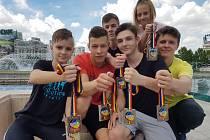 Mladí karatisté SKK Budo Havířov uspěli na mistrovství světa.