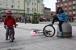 Pokus o rekord v počtu cyklistů na jednom místě v Českém Těšíně.