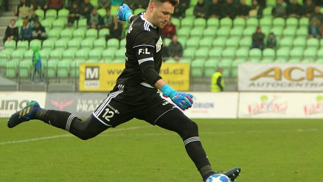 Brankář Martin Berkovec udržel čisté konto.