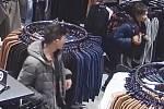 Krádež v Obchodním domě v Karviné.