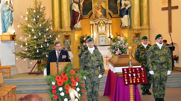 Zemřel válečný hrdina Mikuláš Ganišin.