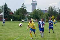 Pod šachetní věží Dolu Darkov se letos hrál výborný fotbal. Stonava skončila druhá.